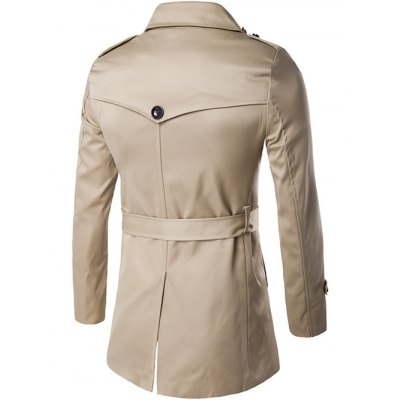 Single Breasted Epaulet Design Trench CoatMens Jackets &amp; Coats<br>Single Breasted Epaulet Design Trench Coat<br><br>Clothes Type: Trench<br>Style: Casual<br>Material: Cotton,Polyester<br>Collar: Turn-down Collar<br>Clothing Length: Long<br>Sleeve Length: Long Sleeves<br>Season: Fall,Winter<br>Weight: 0.860kg<br>Package Contents: 1 x Coat