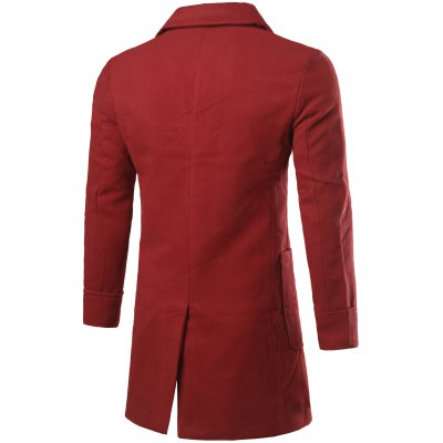 Lapel Collar Big Pocket Wool Blend CoatMens Jackets &amp; Coats<br>Lapel Collar Big Pocket Wool Blend Coat<br><br>Clothes Type: Wool &amp; Blends<br>Style: Casual,Fashion<br>Material: Cotton Blends,Wool<br>Collar: Turn-down Collar<br>Clothing Length: Long<br>Sleeve Length: Long Sleeves<br>Season: Winter<br>Weight: 0.750kg<br>Package Contents: 1 x Coat
