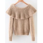 cheap Overlayed Fuzzy Sweater