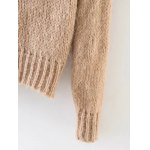 Overlayed Fuzzy Sweater for sale