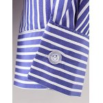 Breast Pocket Striped Shirt for sale