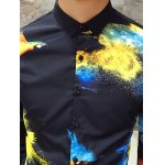 Long Sleeve Slim Fit Printed Shirt for sale