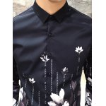 Slim Fit Print Casual Shirt for sale