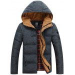 Hooded Vintage Thicken Zip-Up Down Jacket