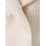 Fuzzy Loose Hooded Coat deal