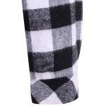 Plaid Pocket Design Buttoned Hoodie photo