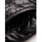 Belted Hooded Quilted Coat photo