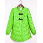 Buckle A Line Padded Coat