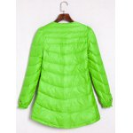 cheap Buckle A Line Padded Coat