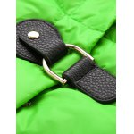 Buckle A Line Padded Coat for sale