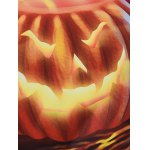 best Hooded 3D Devil Halloween Pumpkin Printed Hoodie