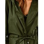 Drawstring Hooded Field Jacket for sale