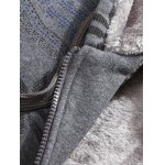 Zipped Slim Fit Cotton Blend Hoodie deal
