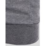 Slimming Pullover Pockets Design Hoodie photo