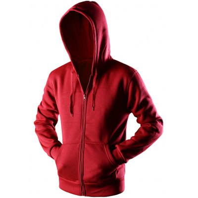 Zipper Up Pocket Hoodie