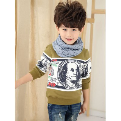 Long Sleeve Thicken Printed T Shirt