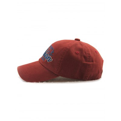 Outdoor Adjustable Letters Embroidery Baseball Cap