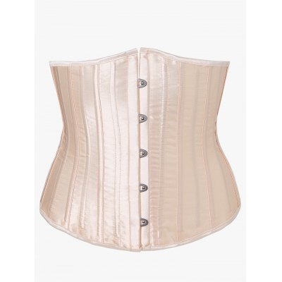 Steel Strapless Lace-Up Corset