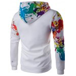 cheap Splatter Paint Long Sleeve Hoodie