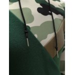 best Hooded Camouflage Splicing Long Sleeve Hoodie