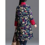 Floral Padded Longline Coat deal