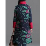 Printed Longline Quilted Coat deal