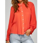 cheap Loose Ruched Shirt
