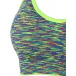 Cut Out Padded Strappy Racerback Sports Bra deal
