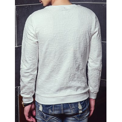 Crew Neck All-Over Embroidery SweatshirtMens Hoodies &amp; Sweatshirts<br>Crew Neck All-Over Embroidery Sweatshirt<br><br>Material: Cotton,Polyester<br>Clothing Length: Regular<br>Sleeve Length: Full<br>Style: Casual<br>Weight: 0.500kg<br>Package Contents: 1 x Sweatshirt
