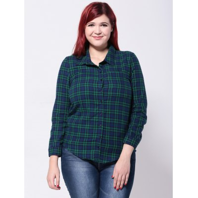 Plaid Slim Shirt