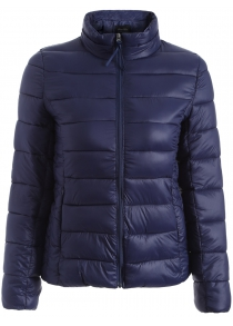 Zip Up Quilted Jacket