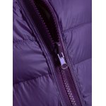 Zip Up Convertible Quilted Jacket photo