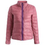 cheap Zip Up Convertible Quilted Jacket
