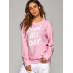 Rose All Day Letter Sweatshirt deal
