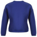 Why Graphic Pompon Embellished Sweatshirt for sale