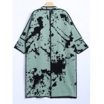cheap Chinese Painting Woolen Cardigan