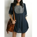 cheap Embroidered Tunic Top