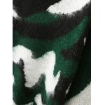 best Jacquard Camoflage Mohair Jumper