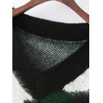 Jacquard Camoflage Mohair Jumper deal