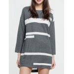 Graphic Long Sweater