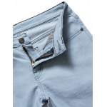 Skinny Zip Fly Light Denim Jeans deal