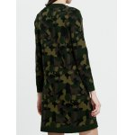 Camoflage Jacquard Long Sweater deal