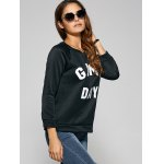 Game Day Print Pullover Sweatshirt deal