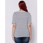 Striped Short Sleeves T-Shirt for sale