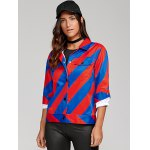 Colorful Striped Shirt Jacket deal