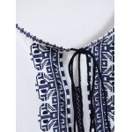 Embroidered Top With Tassel deal