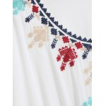 Embroidered Caftan Top deal