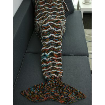 Comfortable Warm Wrap Mermaid Blanket