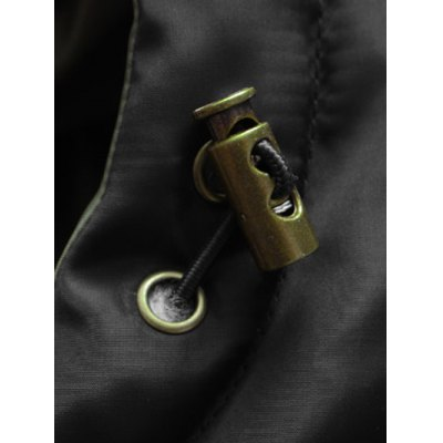 Multi-Pocket Zippered Rib Cuff Hooded Padded CoatMens Jackets &amp; Coats<br>Multi-Pocket Zippered Rib Cuff Hooded Padded Coat<br><br>Clothes Type: Padded<br>Style: Fashion<br>Material: Polyester<br>Collar: Hooded<br>Clothing Length: Long<br>Sleeve Length: Long Sleeves<br>Season: Winter<br>Weight: 1.083kg<br>Package Contents: 1 x Coat