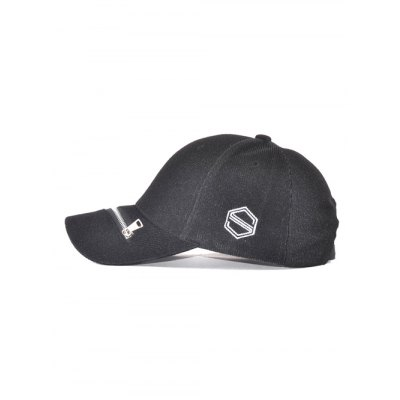 Outdoor Adjustable Zipper S Letters Baseball Cap